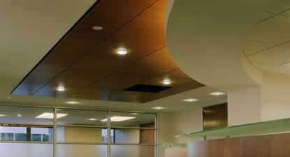 Formas ligeras armstrong plafones for Plafones de madera pared